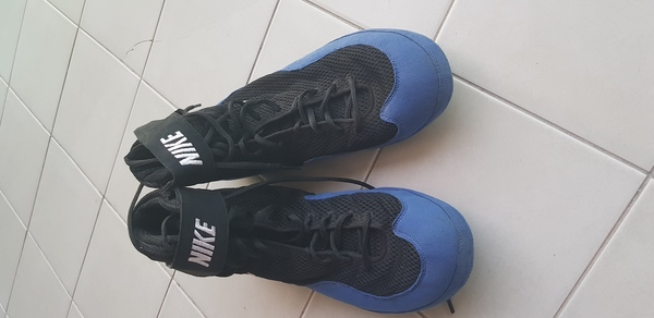 Used Nike shoes, size 47 but it is ok for 46 in Dubai, UAE