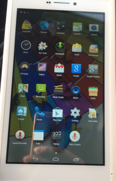 Used 7 inch tablet with 2 sim slot  in Dubai, UAE