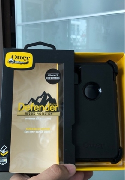 Used Otterbox Defender Rugged iPhone X cover in Dubai, UAE