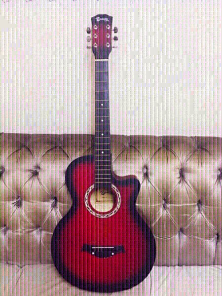 Used Guitar 🎸 💙 in Dubai, UAE