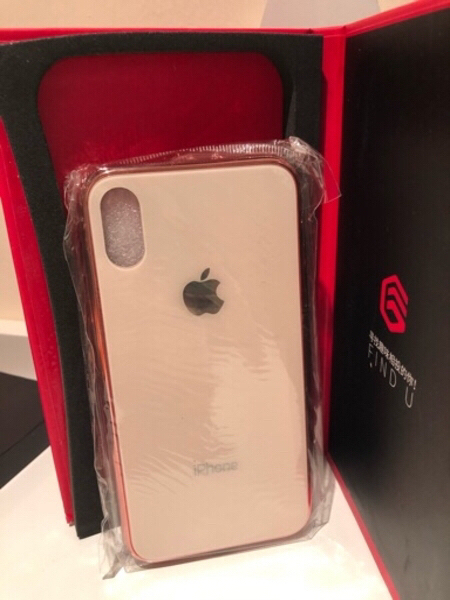 Used iPhone X/XS case and screen protector in Dubai, UAE
