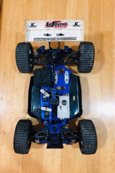 Used Nitro Engine RC Car Chassis in Dubai, UAE