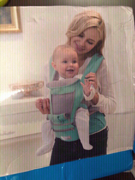 Used NEW Pink Hipseat Baby Carrier in Dubai, UAE