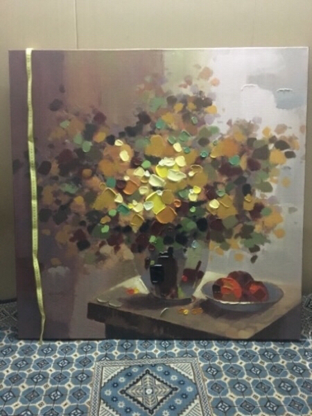 Used Gardens stretched bar (Oil painting 🖼) in Dubai, UAE