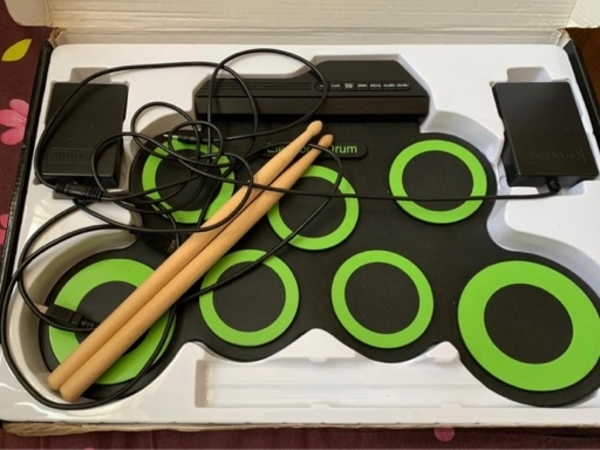 Used Electronic drum kit roll in Dubai, UAE