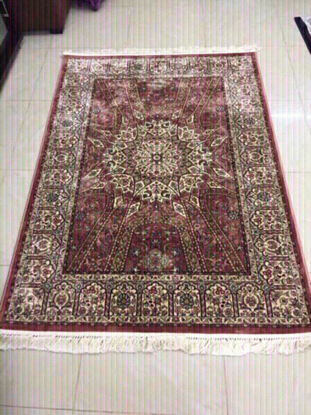 Used New Persian two shaded Carpet120x170 cm in Dubai, UAE