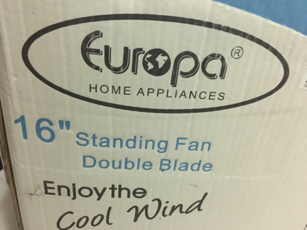 "Used Europa 6""Standing Fan in good condition. in Dubai, UAE"