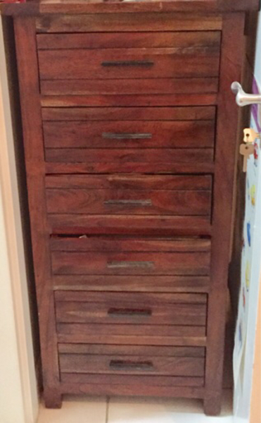Used Wooden Bedroom Set Made in India in Dubai, UAE