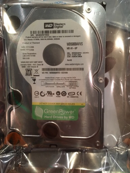 Used 500gb wd internal hdd in Dubai, UAE