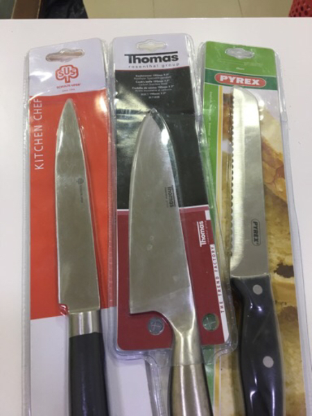 Used 7 Knives + 1 sharperner in Dubai, UAE