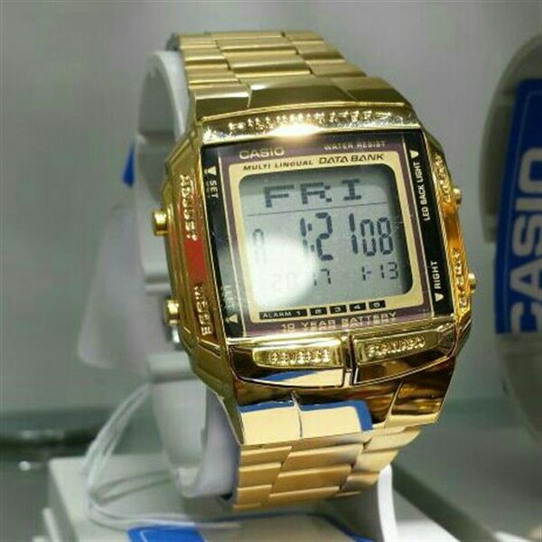 Used Retro Gold Casio Original in Dubai, UAE