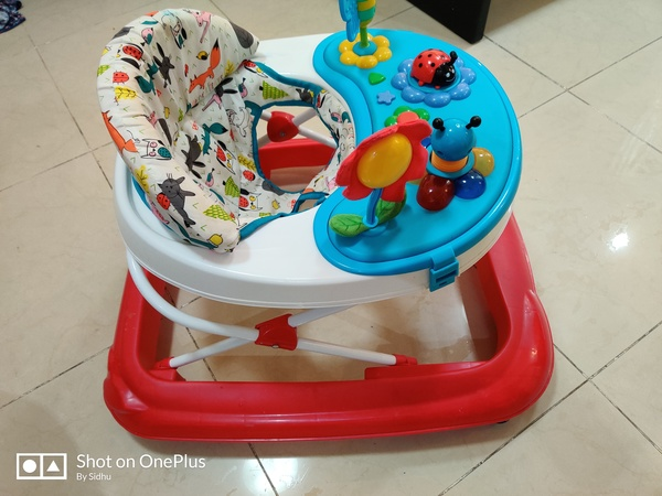 Used Children Walker with music junior brand in Dubai, UAE