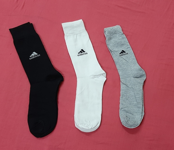 Used Adidas performance sport socks 3 pairs in Dubai, UAE