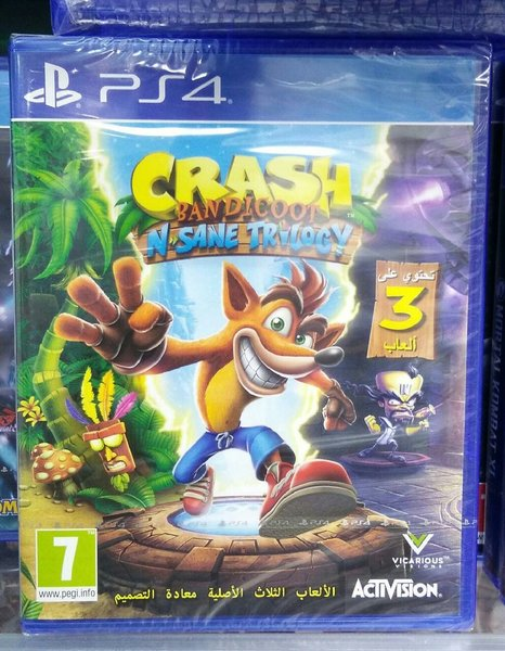Used Ps4 game - CRASH in Dubai, UAE