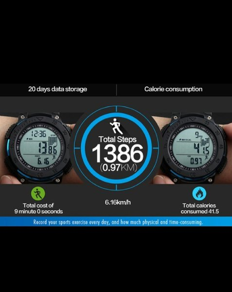 Used SKMEI Fitness Tracker Sports Watch 3D P in Dubai, UAE