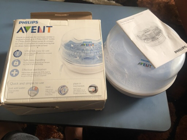 Used Philips avent sterilizer in Dubai, UAE