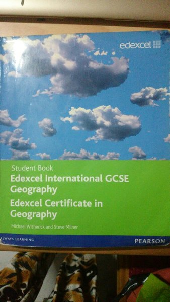 Used Edexcel IGCSE Geography textbook in Dubai, UAE