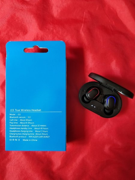 Used Amazing wireless J15 Earphones NEW in Dubai, UAE