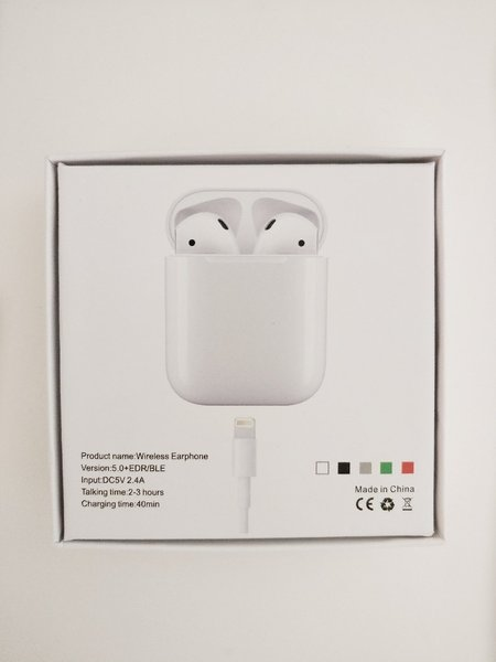 Used i12 Airpods NEW. in Dubai, UAE