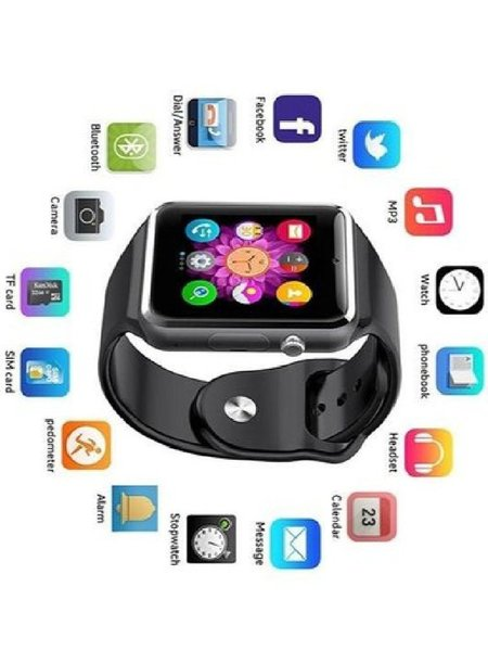 Used A1 Bluetooth Smart watch sim & Camera in Dubai, UAE