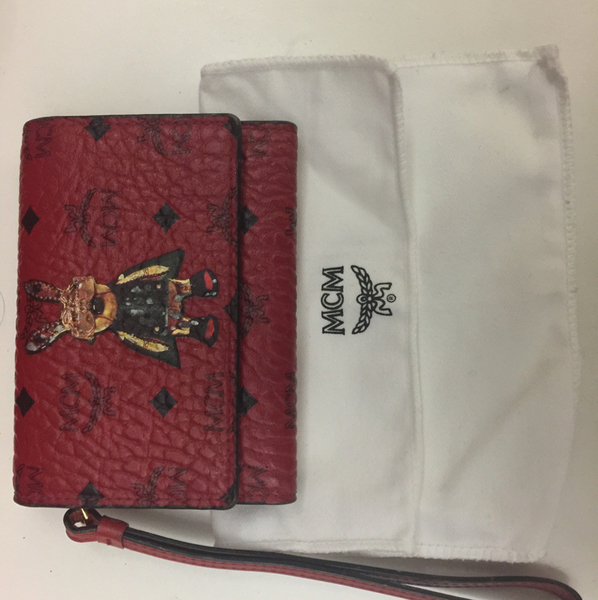 Used Authentic MCM Wallet (small) in Dubai, UAE