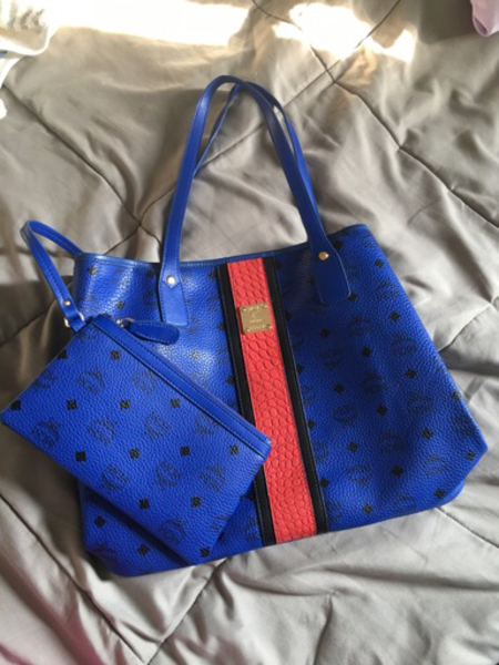 Used MCM Neverfull Large Bag with Pouch in Dubai, UAE