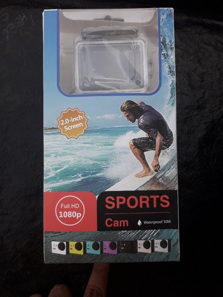 Used Sports camera 1080p in Dubai, UAE