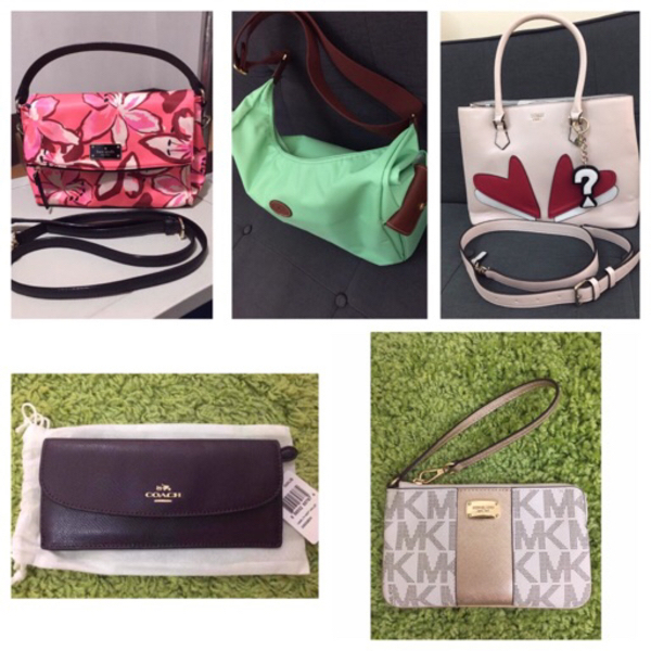 Used Bundle offer. Bags/wallet and wristlet in Dubai, UAE
