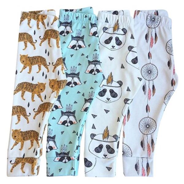 Used Baby / Toddler Leggings (Set of 4) in Dubai, UAE