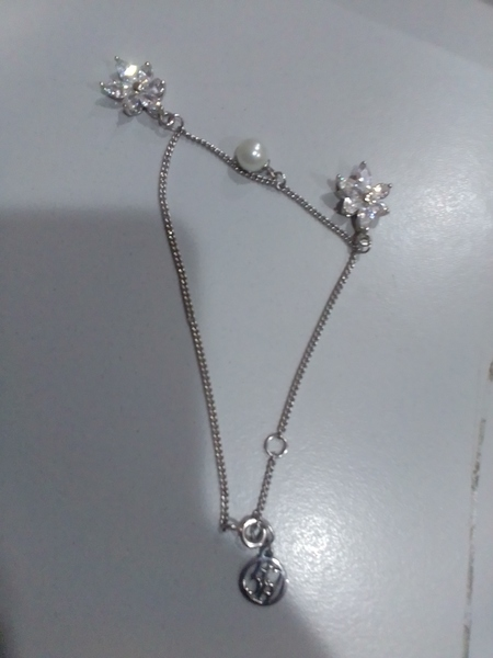 Used 458 silver anklet and neckless in Dubai, UAE