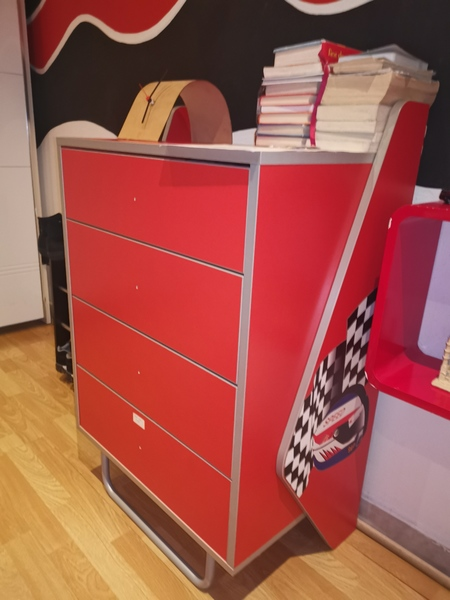 Used Racecar kids furniture in Dubai, UAE