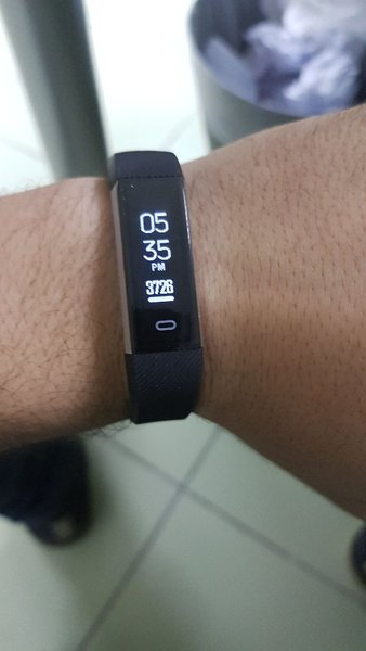 Used Fitness Tracker FITPOLO H705 waterproof in Dubai, UAE