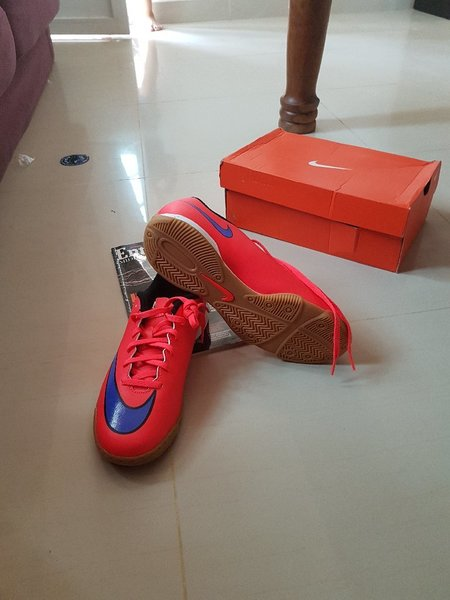 Used Red Nike shoes. in Dubai, UAE
