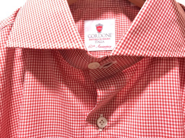 Used NEW CORDONE Shirt Size 41 Italian Brand in Dubai, UAE