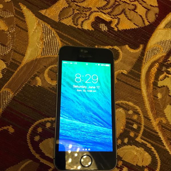 Used Iphone 5s Top Condition. All Is Working.  in Dubai, UAE