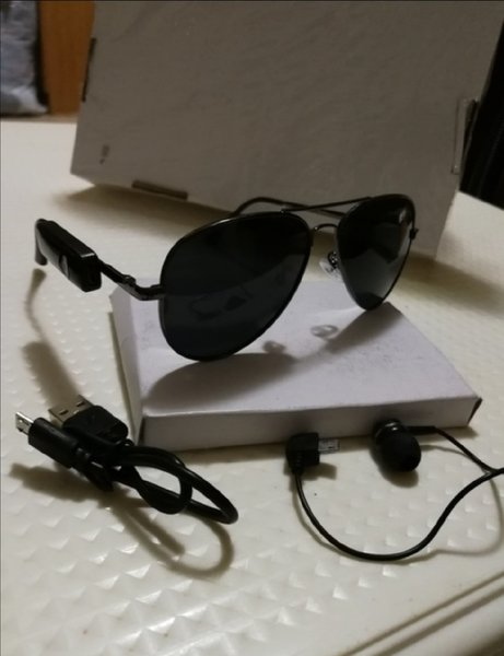 Used New sunglasses with built in headset in Dubai, UAE