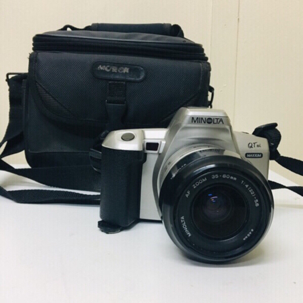 Used Minolta Maxxum QTsi Camera with pouch in Dubai, UAE