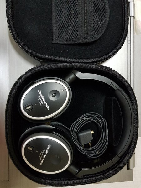 Used Audio tchnica Active Noise Cancelling He in Dubai, UAE
