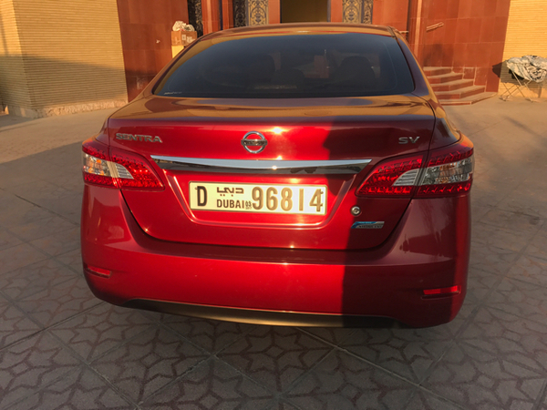 Nissan Sentra 2014 Red Edition For Sale