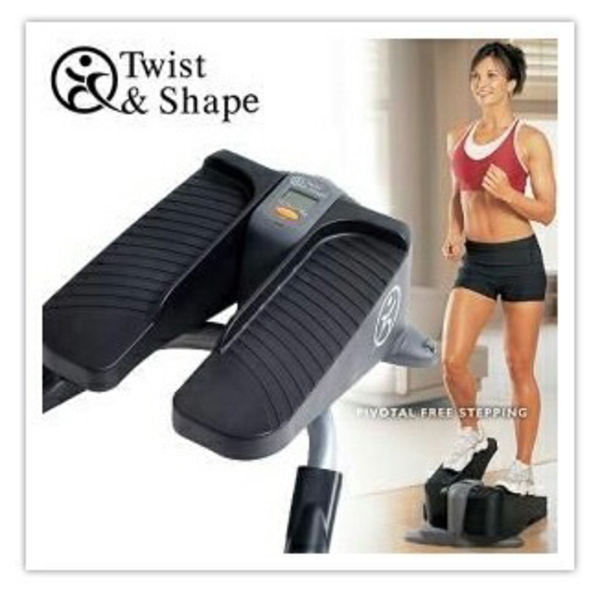 Twist and Shape Exercise for women