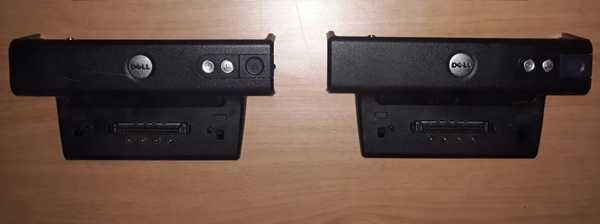 Used Dell Laptop docking station 2 pieces in Dubai, UAE