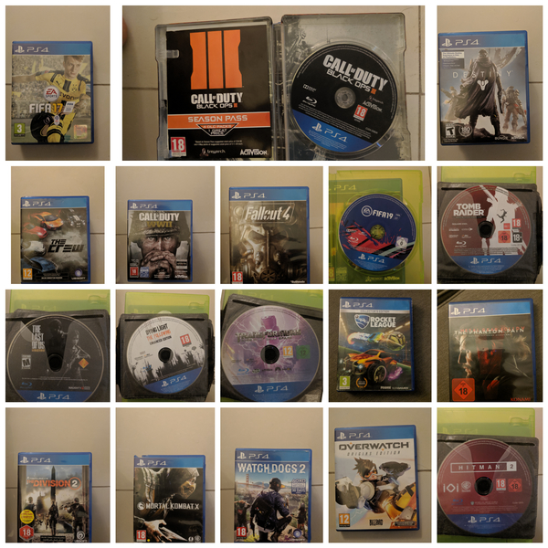 Used PS4 Games ... Cheap prices ... Perfect in Dubai, UAE