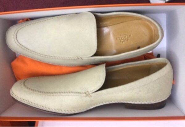 Used Authentic Hermès Mens Shoes-42 ❤️ in Dubai, UAE
