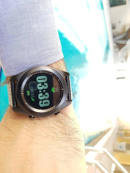 Used NO.1 S9 Heart Rate Smartwatch in Dubai, UAE