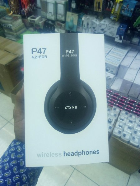 Used P47 blutooth headphone in Dubai, UAE