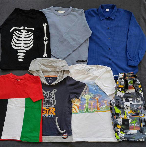 Used Boy Clothing For 7-8years in Dubai, UAE