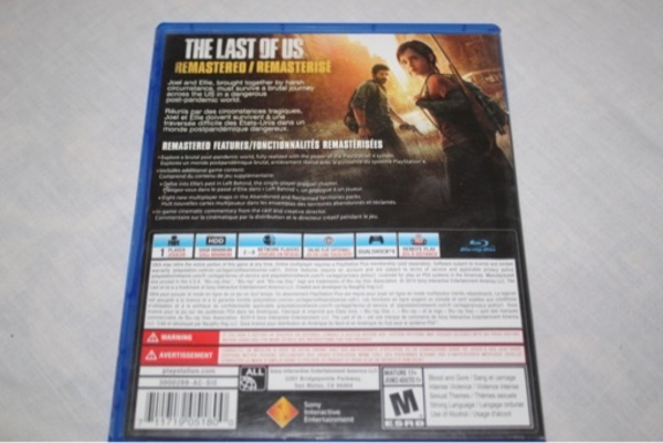 Used The last of us - ps4 CD in Dubai, UAE