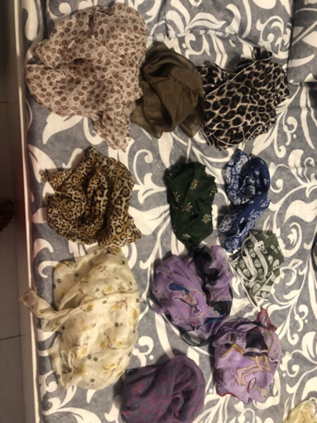 Used Alexander mc queen scarves  in Dubai, UAE
