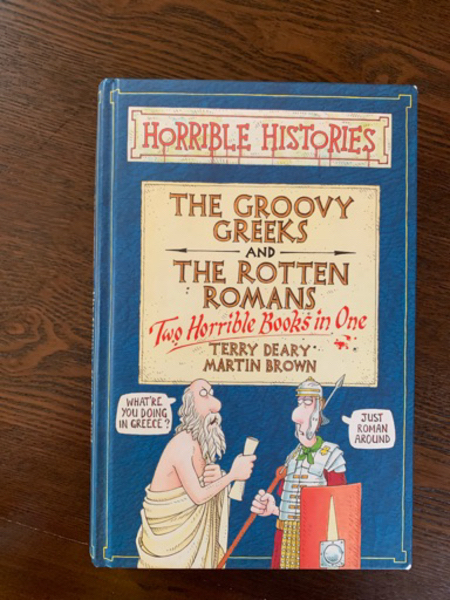 Used The groovy Greeks and the rotten romans in Dubai, UAE