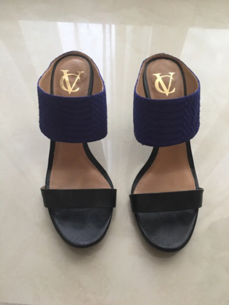 Used Vince Camuto slingbacks - Size 37.5 in Dubai, UAE
